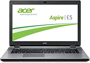 Acer Aspire E17 E5-731-P9KZ 43,9 cm (17,3 Zoll) Notebook (Intel Pentium 3556U, 1,7GHz, 4GB RAM, 1000GB HDD, Intel HD, DVD, Win 8.1) silber