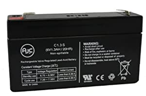 Ohio Printer 3700 6V 1.3Ah Medical Battery - This is an AJC Brand™ Replacement