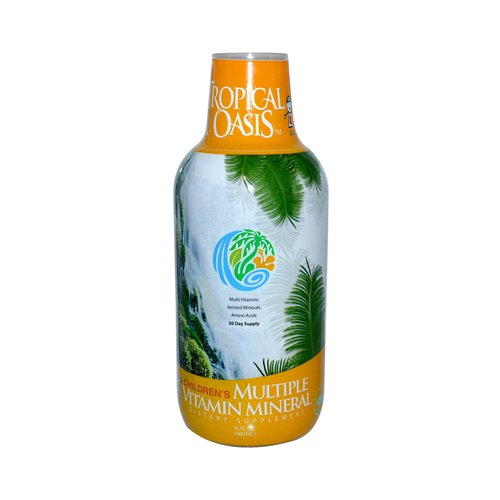 Tropical Oasis Children'S Multiple Vitamin Mineral - 16 Fl Oz