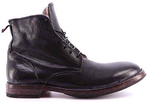 Scarpe Stivaletti Boots Uomo MOMA 55502M4A Cusna Nero Vintage Montone Italy New