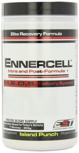 EST Nutrition Ennercell Island Punch Intra/post Workout Rtm (Ready-to-Mix), 320 Gram