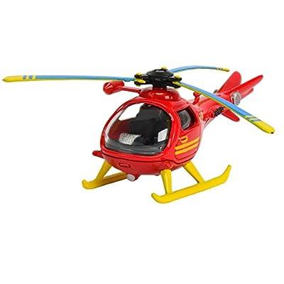 Feuerwehrmann Sam - Mini Die Cast Serie - Bergwacht Hubschrauber Helikopter
