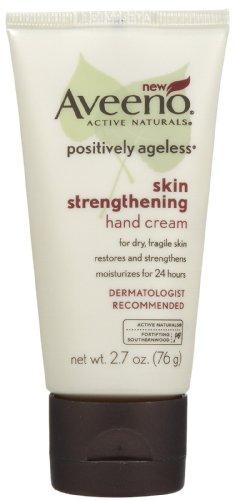 Aveeno Positively Ageless Skin Strengthening Hand Cream, 79 ml
