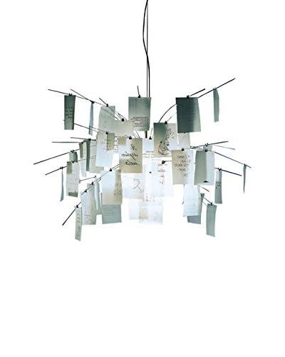 Ingo Maurer Lámpara De Suspensión Zettel'Z 5 Blanco Ø 120 H 120 cm circa