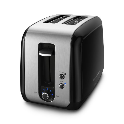 Black Kitchenaid Toaster: KitchenAid KMT211OB 2-Slice Toaster Onyx Black Cheapest