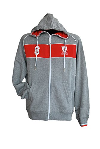 liverpool-fc-herren-full-zip-hoody-grau-rot-fussball-soccer-kapuzen-track-jacke-s