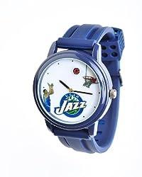 NBA Utah Jazz Shooting Ball Blue Watch and Band