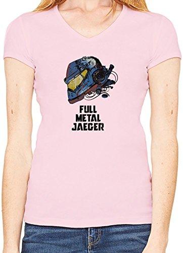 full-metal-jaeger-t-shirt-encolure-v-femme-xx-large