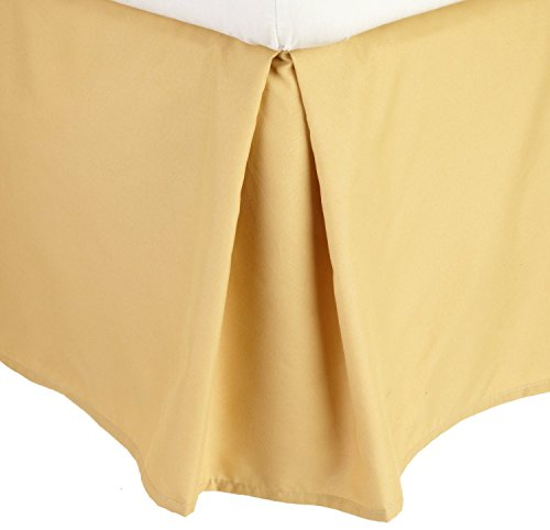 Gold Bed Skirt back-799869