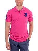 BLUE COAST YACHTING Polo Short Sleeve Polo Shirt (Fucsia)