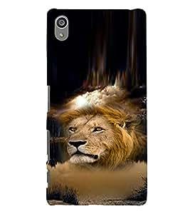PRINTVISA Tiger Case Cover for SONY XPERIA Z5 PLUS