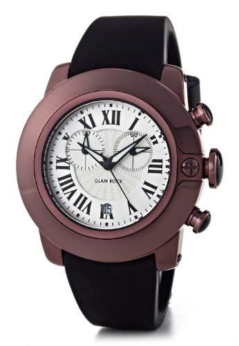 glam-rock-sb3020-sobe-armbanduhr-quarz-chronograph-zifferblatt-schwarz-armband-silikon-schwarz