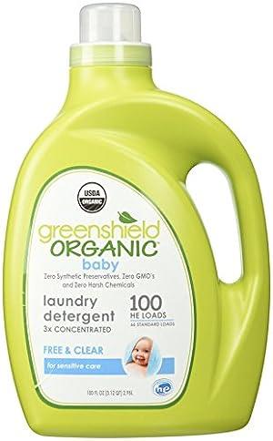 GreenShield Organic Organic USDA Baby Laundry Detergent - 100 oz