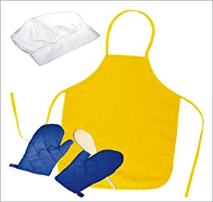The Little Cook / Child's 5-piece Apron Set