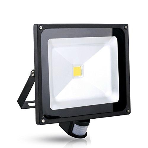 20 Pcs Popular 50W Warm White Floodlight Ac 85-265V Waterproof Led Flood Light Induction Sense Lamp front-208878