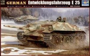 TRU00383 Trumpeter 1:35 - German E-25 Tank model kit
