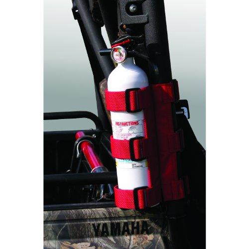 Rugged-Ridge-6330520-Red-ATVUTV-Fire-Extinguisher-Holder