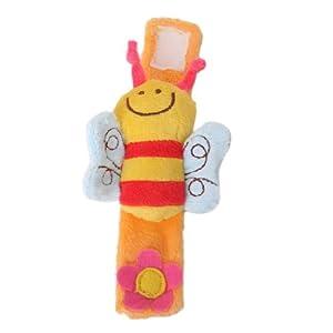 TOOGOO(R) Precioso bebe suave traqueteo de la muneca del juguete manos finder ( bee) de TOOGOO(R) - BebeHogar.com