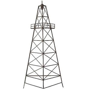 LL Home Metal Oil Derrick Tower Wall Decor