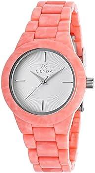 Clyda Salmon Acetate Women's Watch