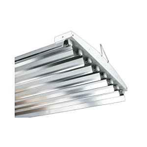 Solar Flare T5 VHO 4' 8 Lamp Very High Output Fixture