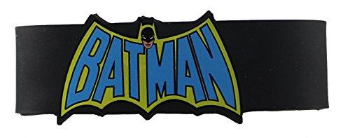 Batman DC Comics Batman Cape Logo Rubber Wristband