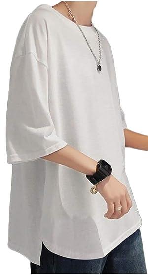 FLOWRISE(フローライズ) [フローライズ] ビッグt ラウンドカット 無地 カットソー Tシャツ tシャツ メンズ 大きい おおきい サイズ