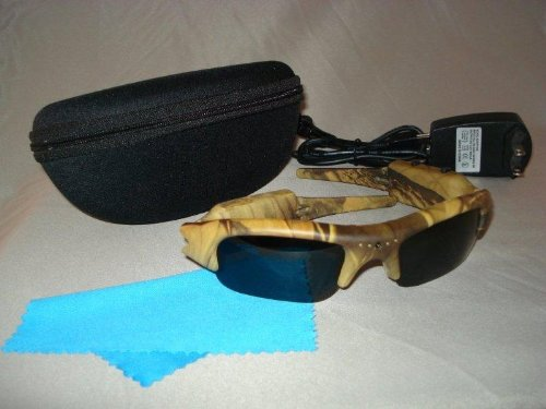 Pov Acg20-4Ca Action Video Camera Sunglasses (Camo)