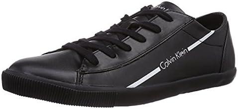 Calvin Klein Jeans Quade, Baskets mode homme - Noir (Bwt), 42 EU