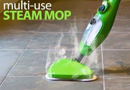Scopa elettrica a vapore h2o x5 steam mop lava tappeti for Scopa h2o recensioni