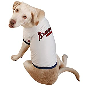Sporty K9 Atlanta Braves Baseball Dog Jersey Extra Large by Sporty K9, Ltd.
