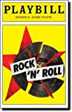 img - for Brand New Color Playbill from Rock 'n' Roll starring, Rufus Sewell Alice Eve Brian Cox Sinead Cusack book / textbook / text book