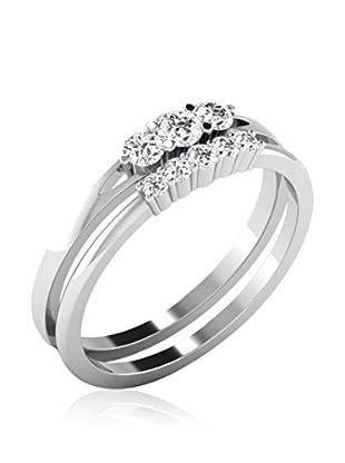 Friendly Diamonds Anillo FDR7941Y (Oro Blanco)