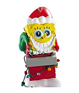 Carlton Cards Heirloom SpongeBob SquarePants Christmas Ornament with Sound