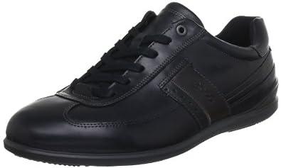 ECCO Men's Chander Sneaker,Black,46 EU/12-12.5 M US