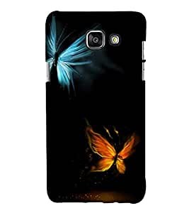 FUSON Colourful butterflies Back Case Cover for Samsung Galaxy A7(2016)