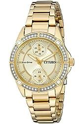 Citizen Women's FD3002-51P Drive from Citizen Eco-Drive POV Analog Display Japanese Quartz Gold Watch