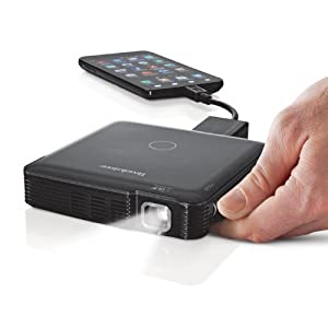 Hdmi pocket projector mobile 100 lumen for Pocket pc projector