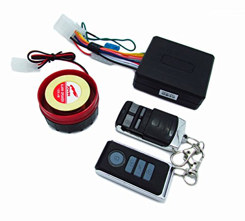Ediors Motorcycle Bike Scooter Anti-theft Security Alarm System Remote Control Engine Start 12V for Suzuki Honda Yamaha Kawasaki Harley Davidson And All Other Motorcycles