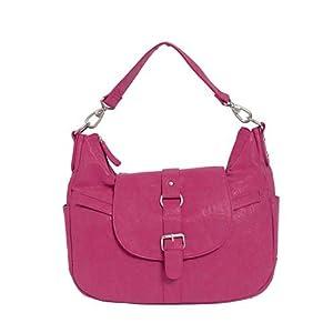 Kelly Moore B-Hobo Bag - Fuchsia Pink