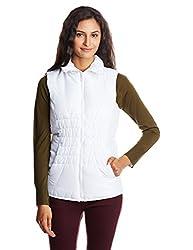 Puma Women's Jacket (83747202_White_X-Large)