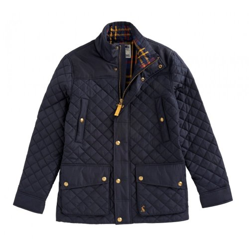 Joules Rambleside Mens Quilted Jacket Navy Medium