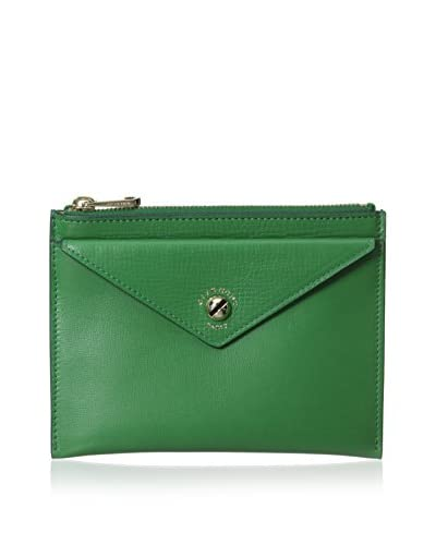 Givenchy Women's Envelope Pouch, Emerald Green
