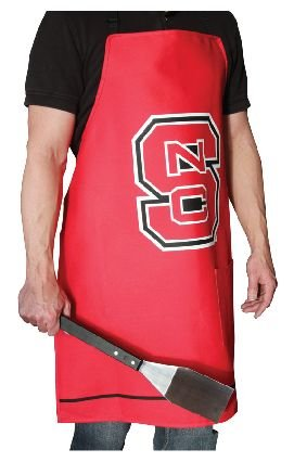 2 Premium NCAA Apparel North Carolina State University BBQ Grilling Aprons