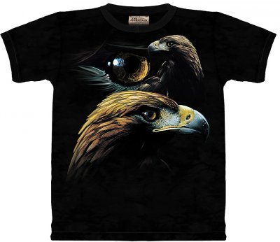 The Mountain Golden Eagle Collage Tee T-Shirt Adult L