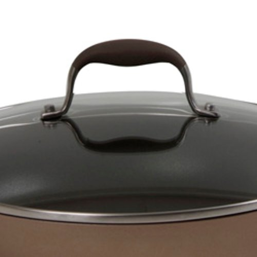 Anolon Advanced Bronze Hard Anodized Nonstick 4.5-Quart Tapered Stockpot