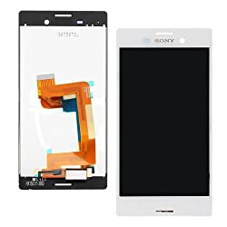 Online For Good(TM) Full LCD Touch Digitizer Screen Replacement for Sony Xperia M4 Aqua E2303 E2333 E2353 -White