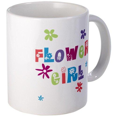 Cafepress Happy Flowergirl Mug - Standard
