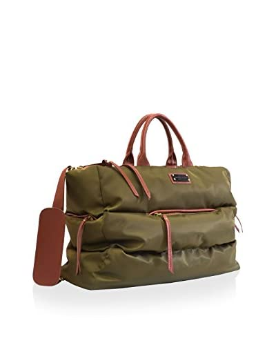 Adrienne Vittadini 22 Quilted Nylon Duffel