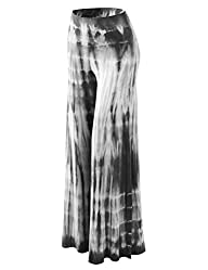 MBJ Womens Comfy Chic Solid Tie-Dye P…